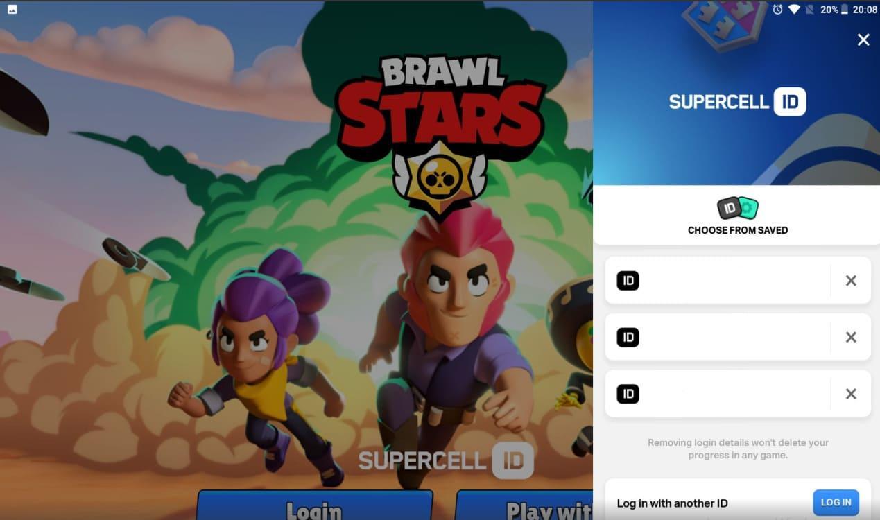 Как сделать вход в другой свой аккаунт в игре Бравл Старс