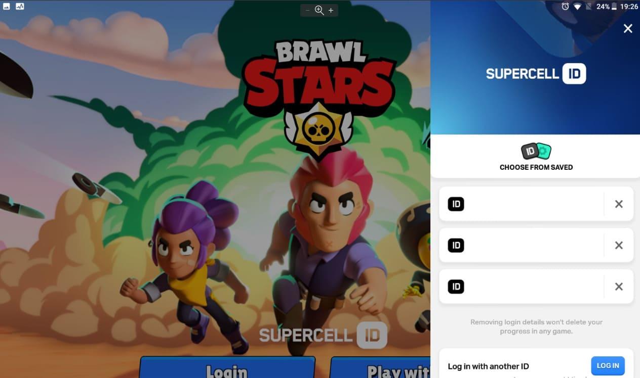Смена аккаунтов в игре