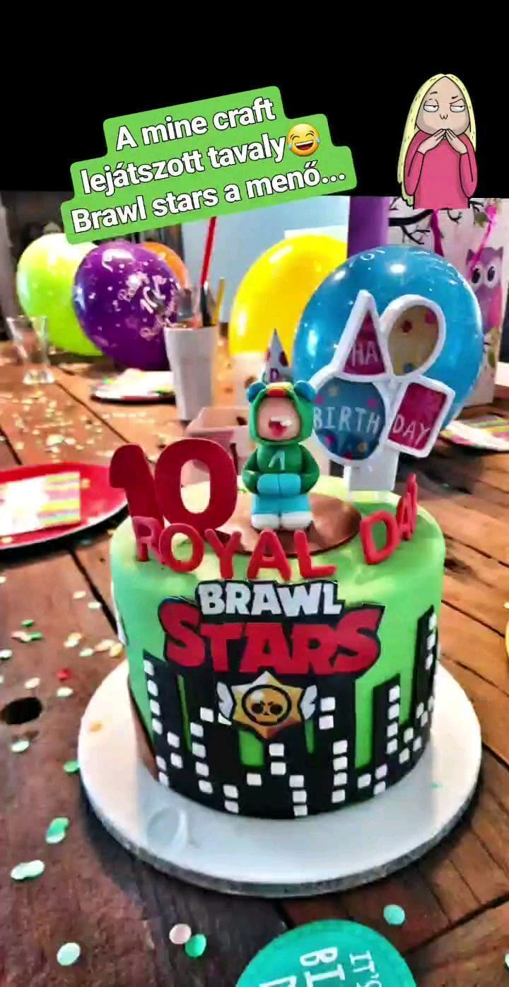 Торт Brawl Stars