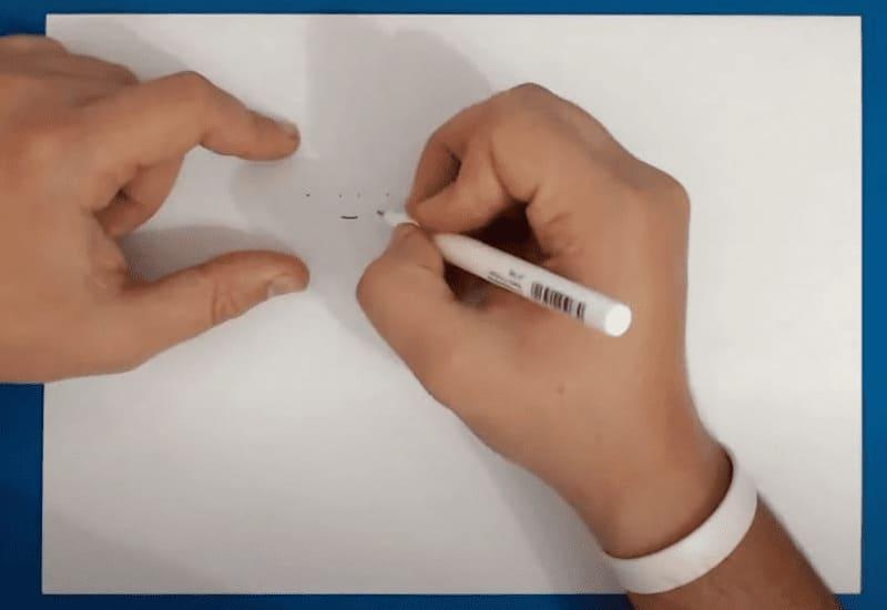 Как нарисовать Амбер из Бравл Старс карандашом