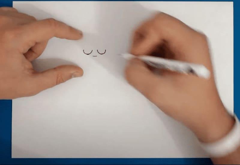 Как нарисовать Амбер из Бравл Старс поэтапно