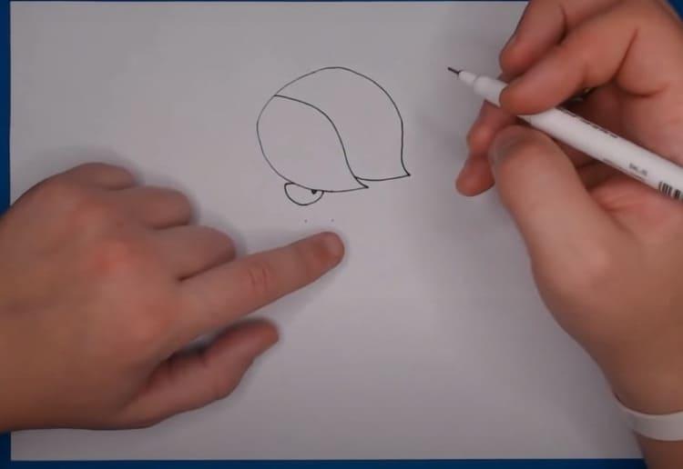 Как нарисовать Эдгара из brawl stars
