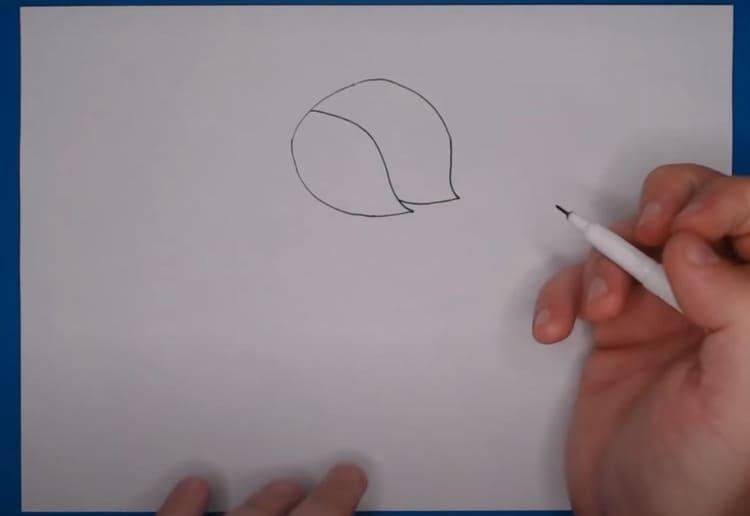 Как нарисовать Эдгара