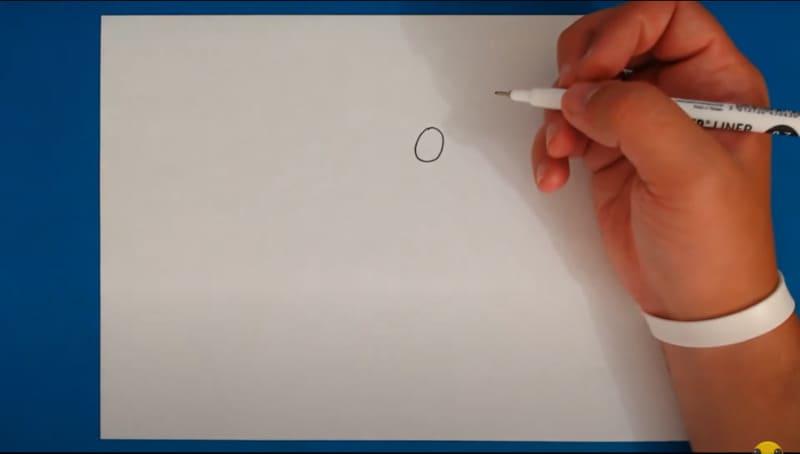 Как нарисовать Колетт 1