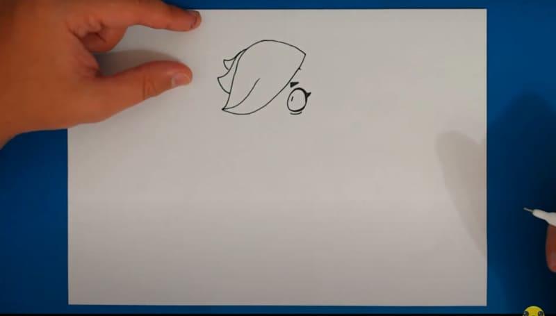 Как нарисовать Колетт 11