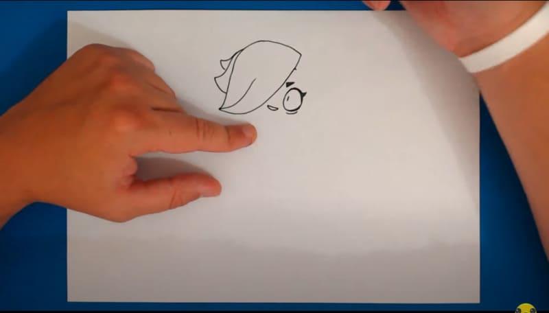 Как нарисовать Колетт 12