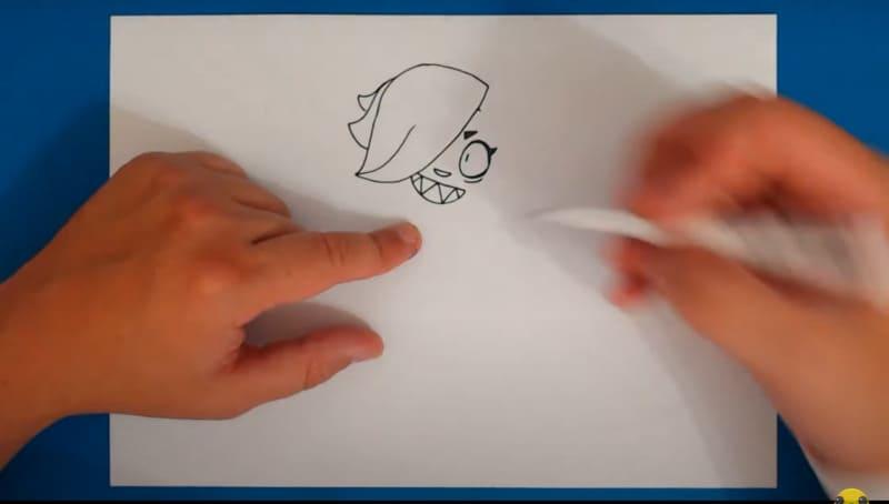 Как нарисовать Колетт 13