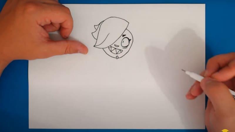 Как нарисовать Колетт 14