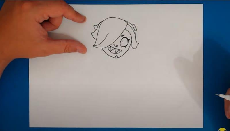 Как нарисовать Колетт 16