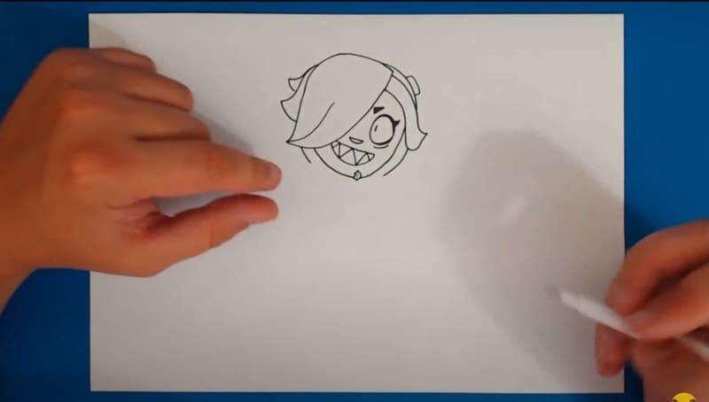 Как нарисовать Колетт 17