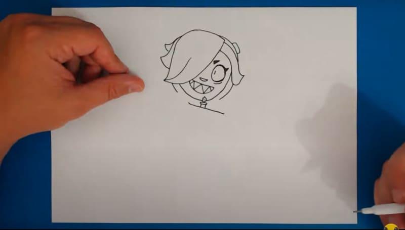 Как нарисовать Колетт 18