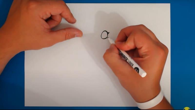 Как нарисовать Колетт 2