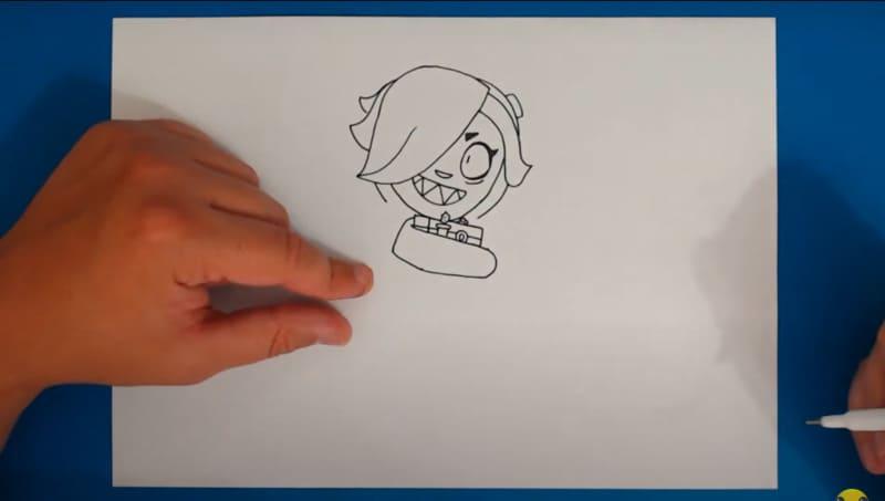 Как нарисовать Колетт 20