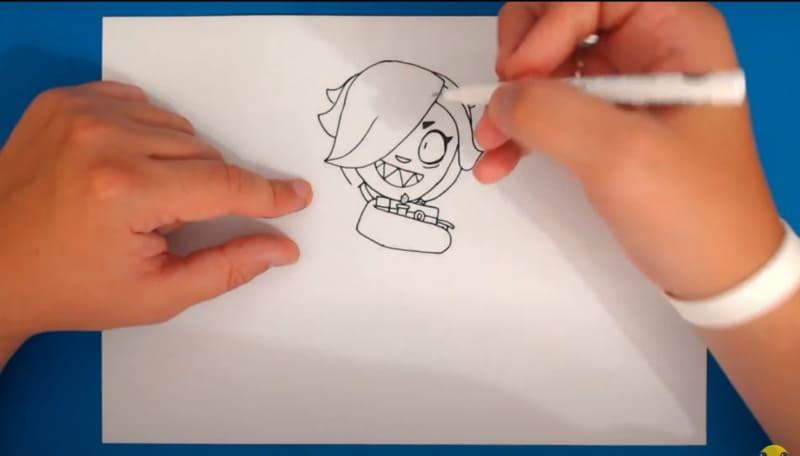 Как нарисовать Колетт 21