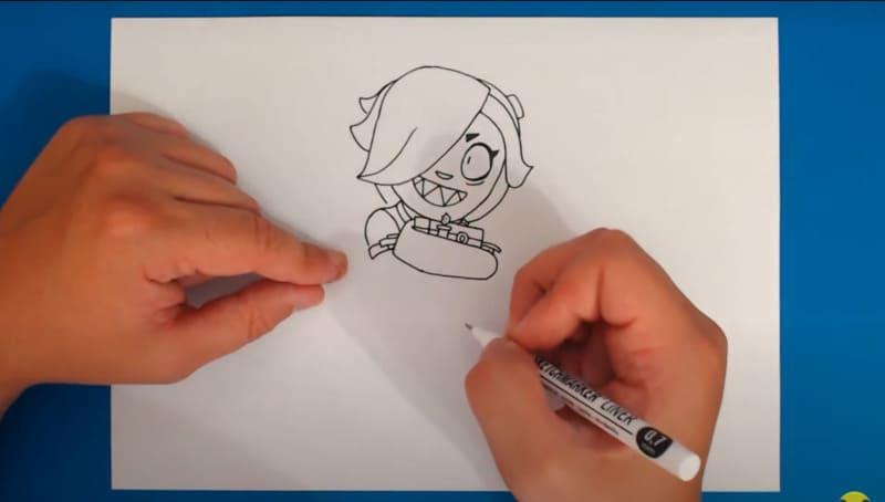 Как нарисовать Колетт 22