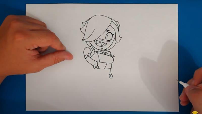 Как нарисовать Колетт 24