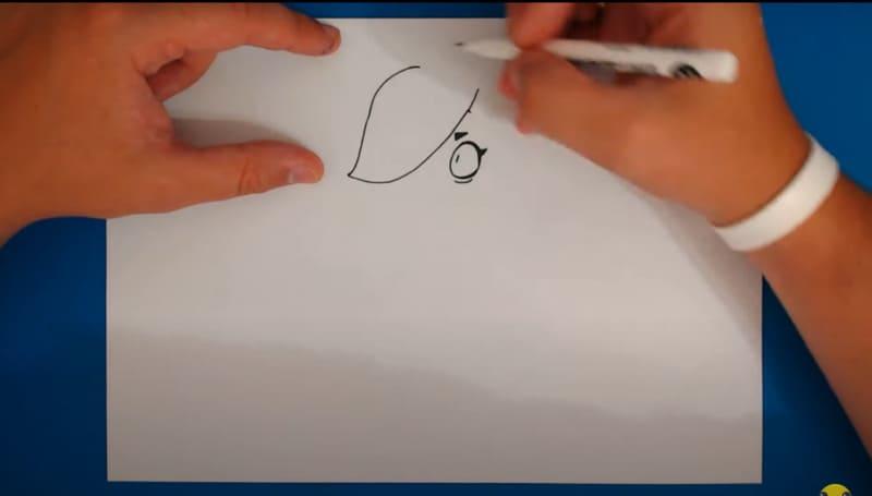 Как нарисовать Колетт 9