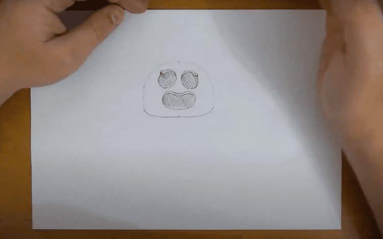 Как нарисовать Сакуру Спайка из Бравл
