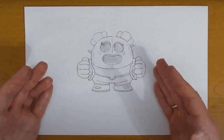 Как нарисовать Спайка девочку