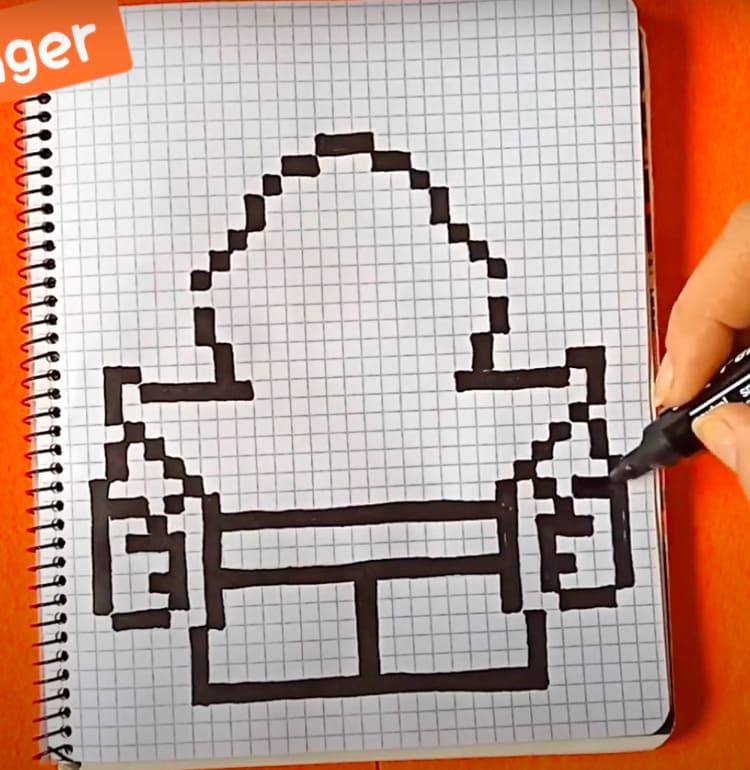 Как нарисовать Спайка из Бравл Старс поэтапно карандашом для начинающих