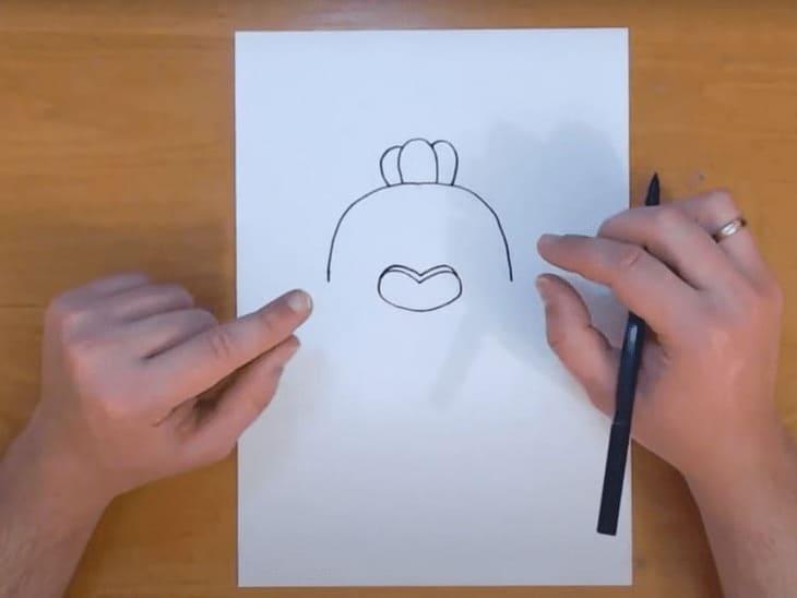 Как нарисовать Спайка из Бравл Старс