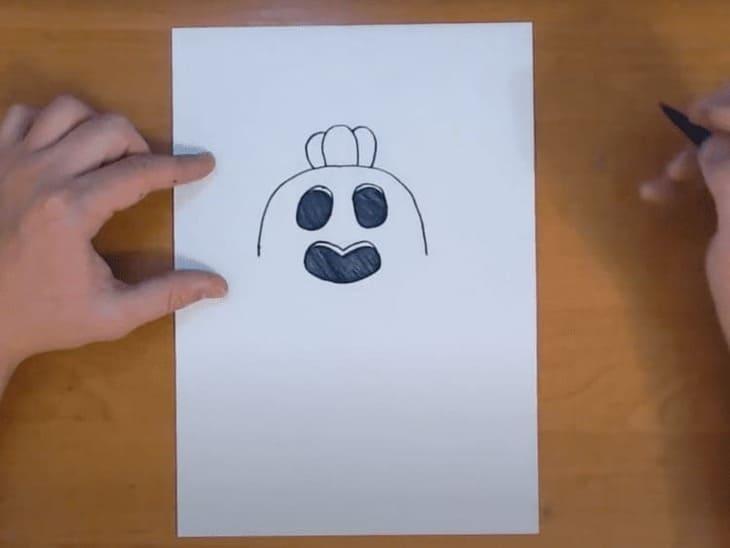 Как нарисовать Спайка из Бравл Старса