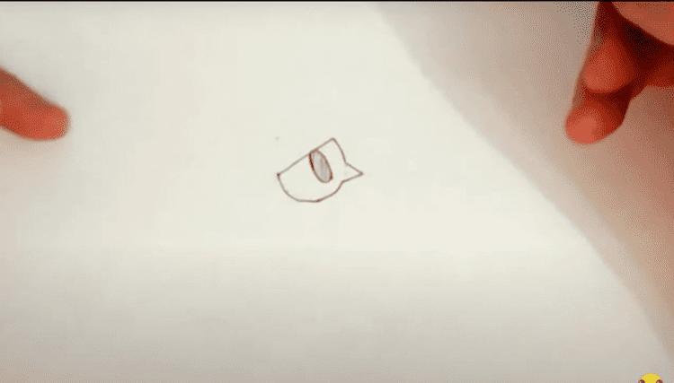 Как нарисовать Ворона из Бравл Старс по этапно