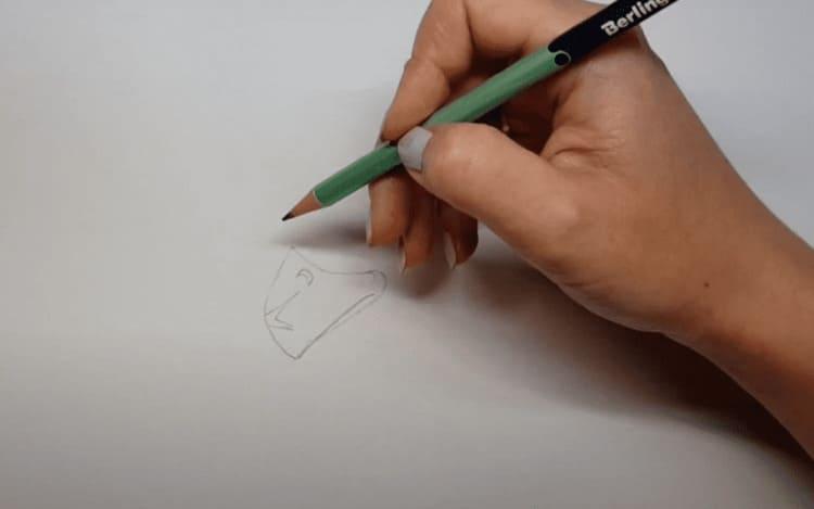 Как нарисовать Ворона из игры Бравл Старс