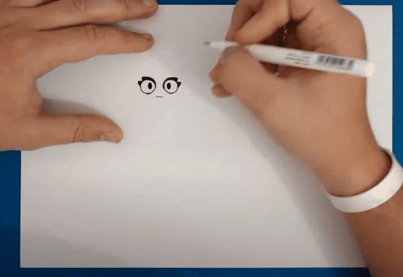 Как нарисовать из Бравл Старс Амбер