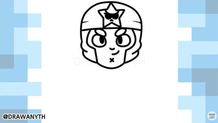 Как нарисовать корсара кольт 2