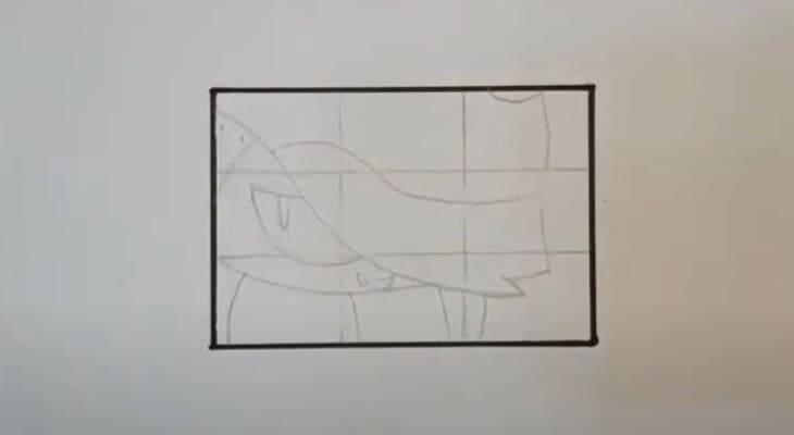 Как нарисовать молниеносного Эдгара