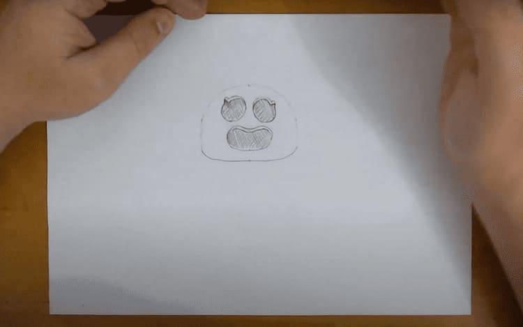 Как нарисовать персонажа игры Bravo Stars Спайк