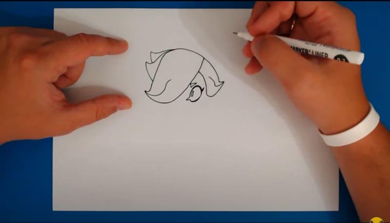 Как нарисовать скин Малефисента Колетт 3