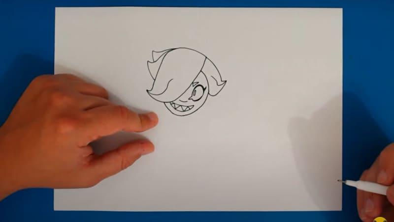 Как нарисовать скин Малефисента Колетт 4