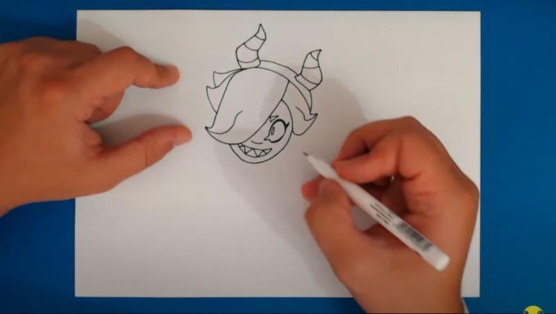 Как нарисовать скин Малефисента Колетт 5