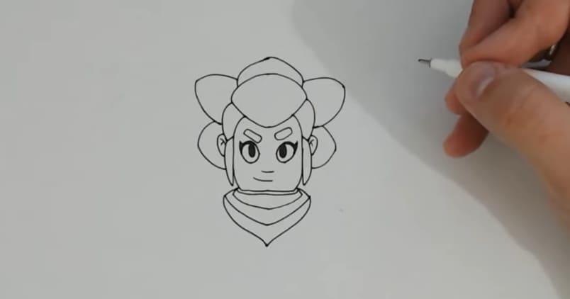 Нарисовать Шелли красиво 6