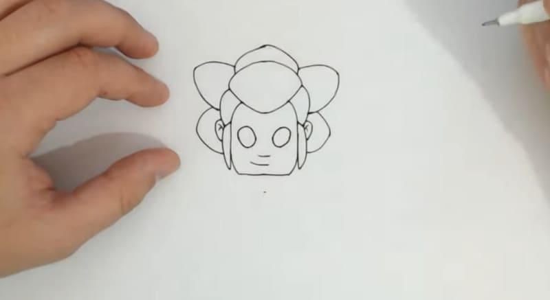 Нарисовать Шелли из Старса 4
