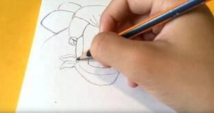 Шелли из старс карандашом